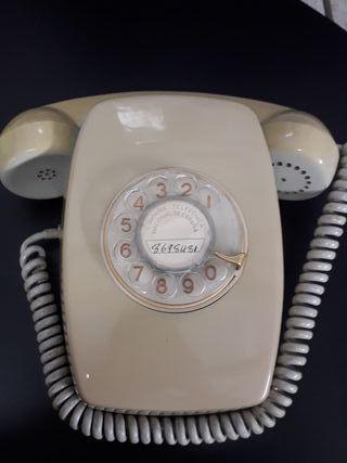 Telefono antiguo, fabricado en CITESA- MALAGA.
