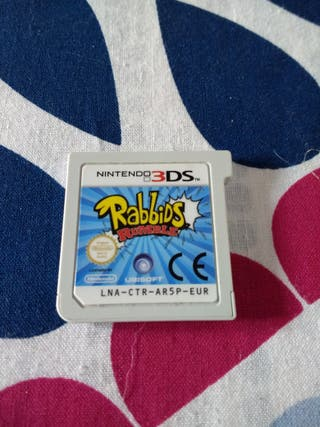 Juego Rabbids N3DS