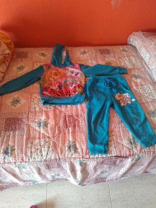 chandal y pijama patrulla canina niña