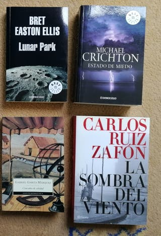 Pack de libros (novelas)