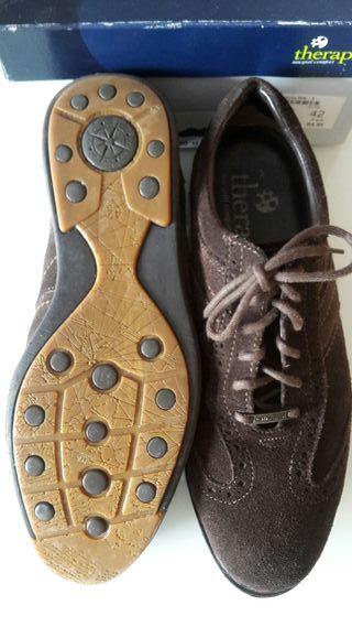 Zapatos HombreMarca Piel De TherapieN42Nuevos Segunda Por Mano R5jq3A4L