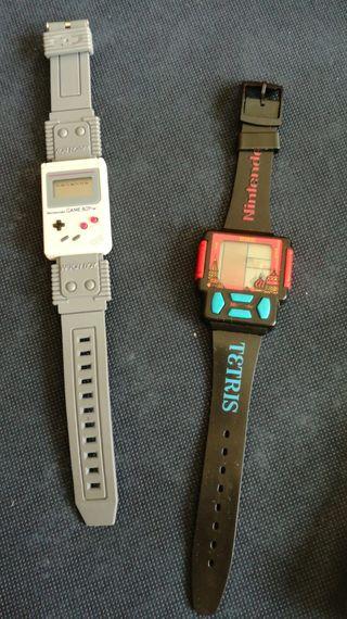 Reloj nintendo tetris retro