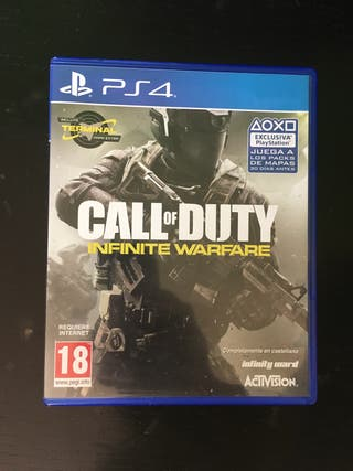 PS4 Infinity warfare