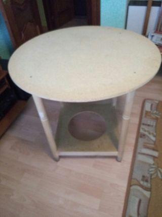Mesa redonda de 80 cm