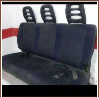 asientos traseros de citroen jumping (furgoneta)