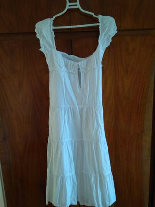 vestido blanco T/M