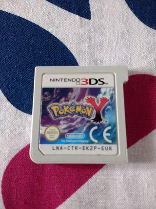 juego pokemon Y N3DS