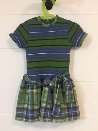 Conjunto Vestido/chaqueta niña 4 años Villalobos