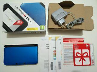 Nintendo 3DS XL - Azul y Negro