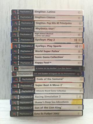 19 juegos para PS2