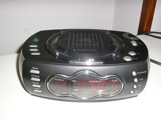 RADIO DESPERTADOR-KNEISSEL KCDC 606,CD