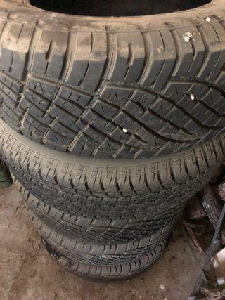 Neumáticos mixtos!