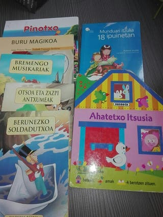 Pack 7 ipuin Euskaraz Cuentos Euskera
