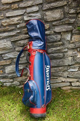 Bolsa de palos de golf VINTAGE decoracion