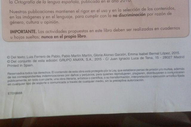 Matematicas Anaya cuarto primaria de segunda mano por 15 € en Madrid ...