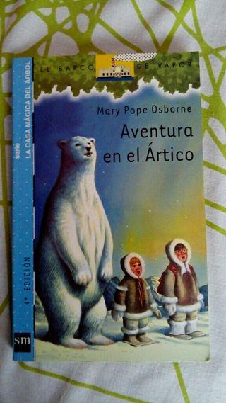 """Libro infantil """"aventura en el ártico """""""
