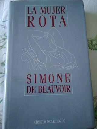 """Novela """"La mujer rota"""", de Simone de Beauvoir"""