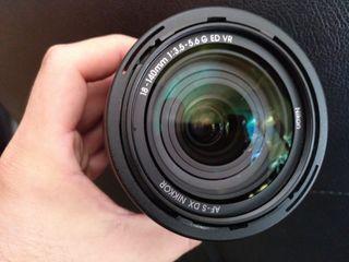 Cámara Nikon D60 + Nikkor 18-140 VR