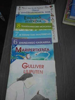 7 ipuin Euskaraz. 7 cuentos euskera