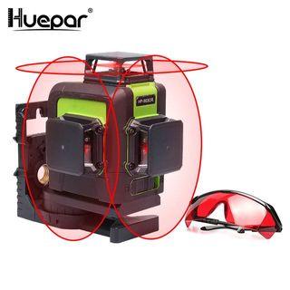 Nivel láser profesional Huepar 903CR Nivelador