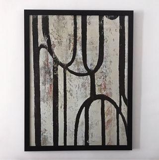 Óleo abstracto Ikea HALLARYD