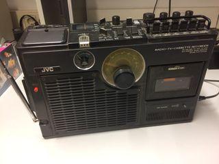 Radio Cassette Tv analógica
