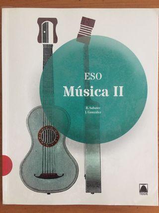 Libro escolar Música II