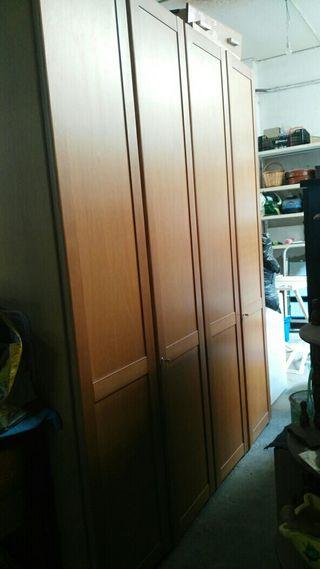 armario 4 puertas con lunas