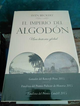 """Libro """"El imperio del algodón.Una historia global"""""""