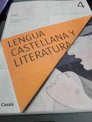 LIBRO LENGUA CASTELLANA Y LITERATURA 4 ESO