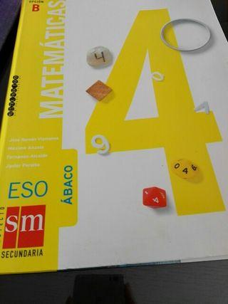 LIBRO DE MATEMÁTICAS APLICADAS 4 ESO