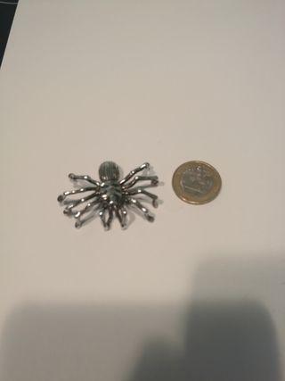 Colgante de plata Araña