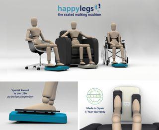 Happylegs seated walking machine (NEW)