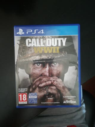 Se vende juego Call of Duty WWII
