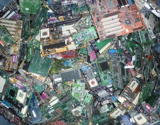 Reciclamo material informático