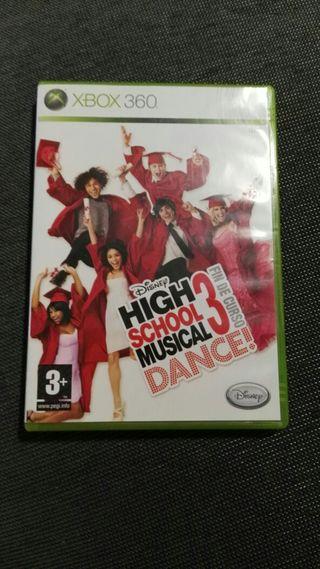 Juego xbox 360 High School musical