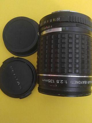 Objetivo Pentax takumar 135 mm