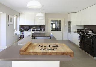 Buy Grey Starlight Quartz Worktop for Kitchen