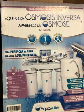 SIN ESTRENAR Osmosis inversa agua purificad