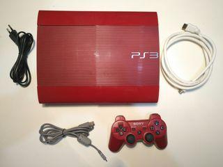 Sony Playstation 3 - Super Slim Roja 500Gb