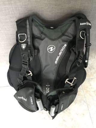 Chaleco jacket buceo submarinismo alas