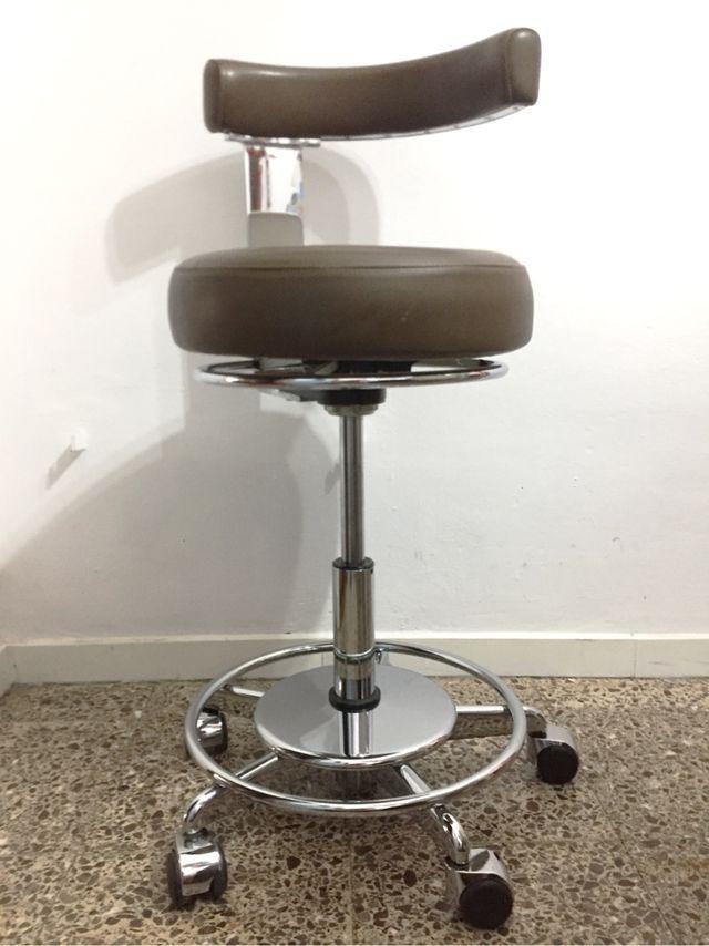 silla taburete dentista, casi vintage!!!! de segunda mano por 280