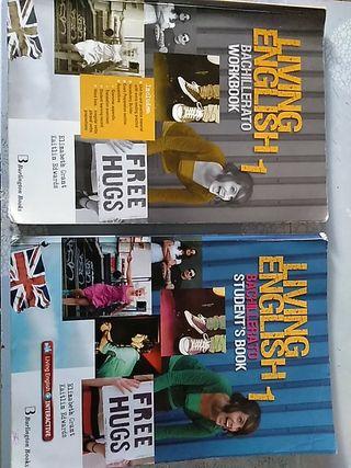 libro living english workbook y students book 1 ba