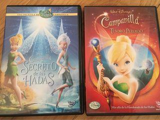DVD Disney. Campanilla