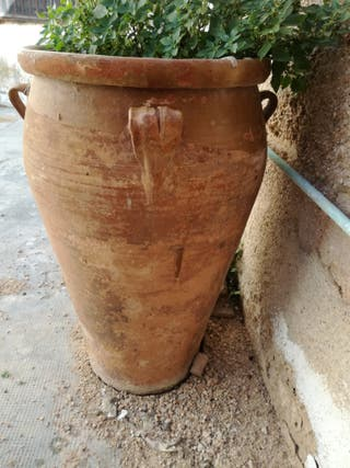 vasija de barro antigua