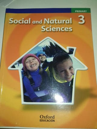 Libro de 3°primaria: 'Social and Natural Sciences'
