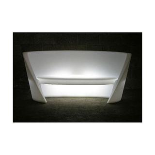 Sofa modelo RAP retroiluminado marca SLIDE