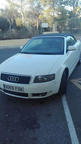 Audi A4 sline cabrio 2.5 tdi 2004