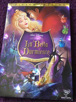 DVD Disney La bella durmiente