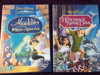 DVD Disney. En inglés.